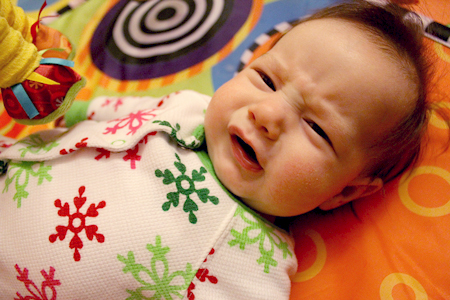 "Is crying ever ""good"" for babies?"