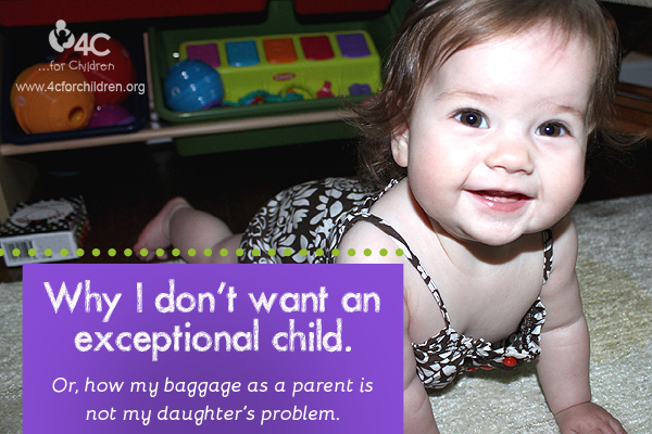 "The pressure to have an ""exceptional"" child is very real for some parents. How do you cope?"