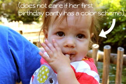When it comes to children's birthday parties, what's important to you and your child is what matters... not what all of the other moms are doing.