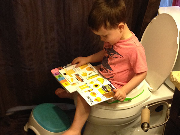 Potty training? Don't panic!