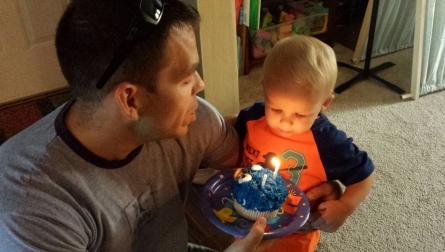 Birthdays are bittersweet